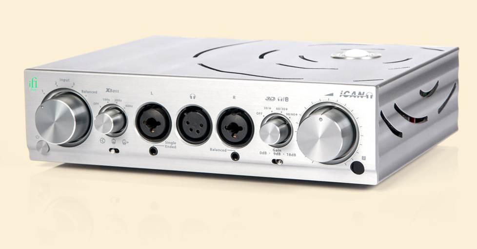 iFi Audio Pro iCAN Headphone amp/preamp