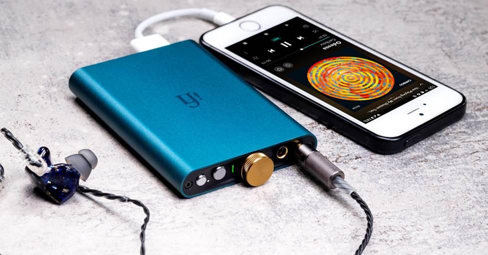 iFi Audio hip-dac Portable USB DAC and headphone amplifier