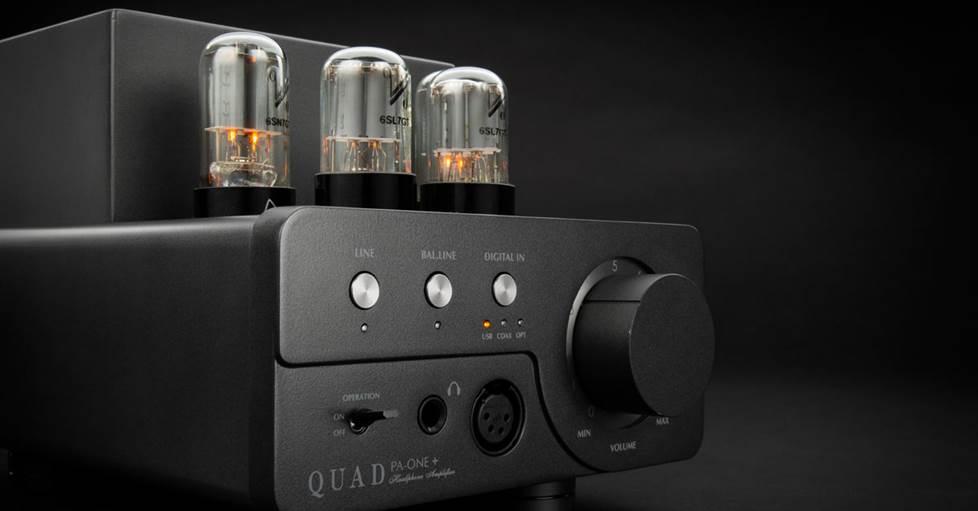 Quad PA-One+ Vacuum tube headphone amp/DAC/preamp