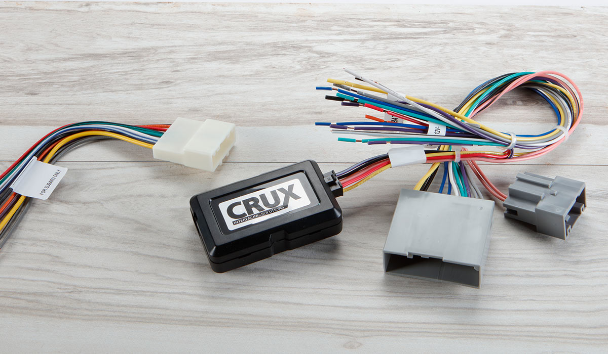 Guide to Car Stereo Wiring Harnesses | Ford Factory Radio Wiring |  | Crutchfield