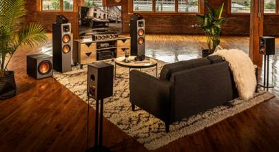 Rear channel speakers for home theater