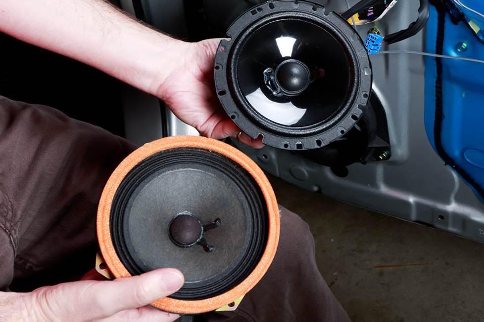 Old speaker vs new speaker