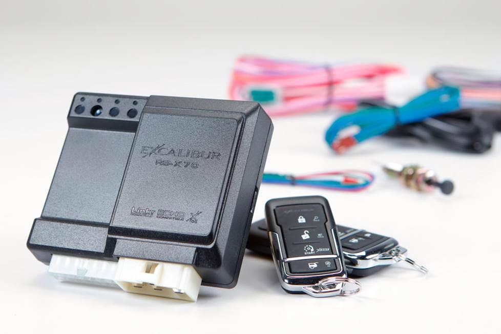Excalibur RS-475-3D remote start system