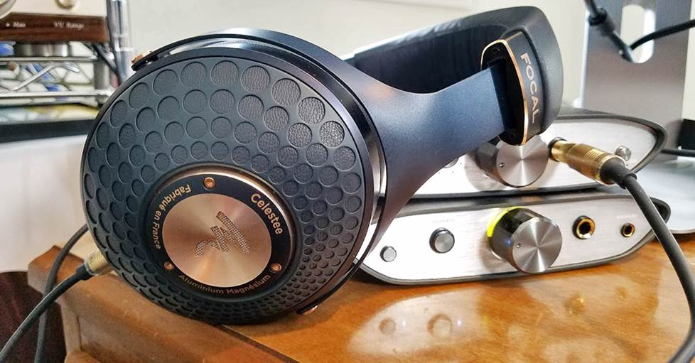 Focal Celestee with iFi stack