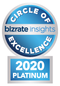 Bizrate Insights Platinum Circle of Excellence