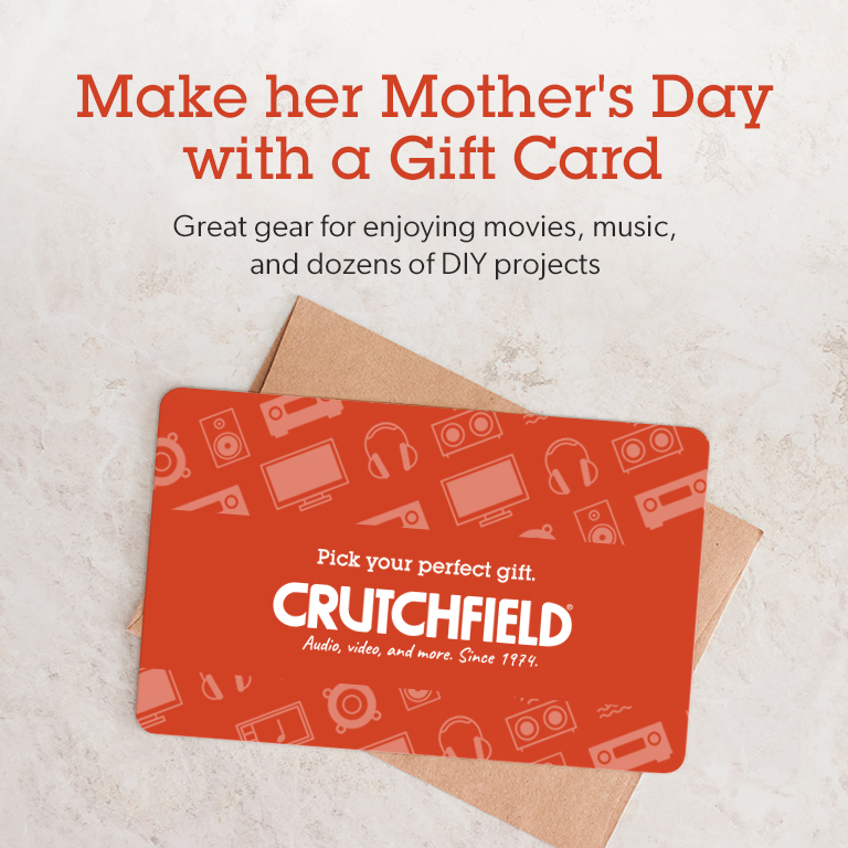 Crutchfield Gift Card