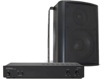 on AudioSource outdoor and in-ceiling speakers with purchase of select AudioSource power amps