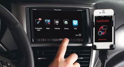 Three Degrees of iPhone® Control in the Car