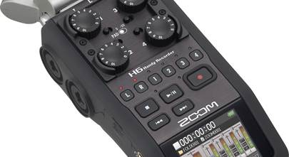 Zoom H6 handheld 6-track digital recorder review