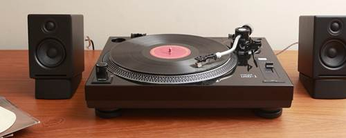 Create a super-simple record playing system