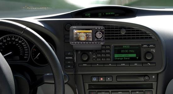Satellite radio vehicle installation guide