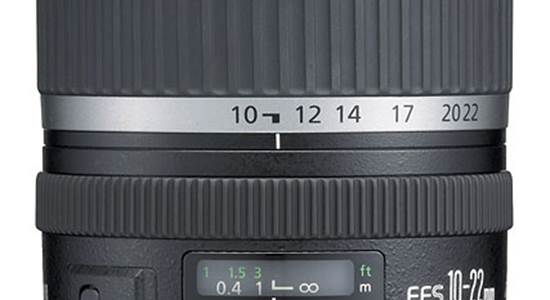 Canon EF-S 10-22mm f/3.5-4.5 super-wide zoom lens
