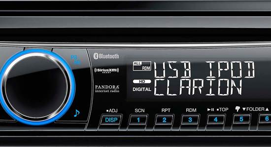 Testing the Bluetooth® features of six car receivers