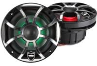 Wet Sounds REVO 6-XSB-SS (Black/Chrome XS Open Grill)