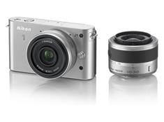 Nikon 1 J1 w/10mm Wide-Angle and 10-30mm VR Lens