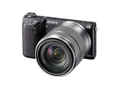 Sony Alpha NEX-5R with 3X Zoom Lens