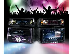 Light up your dash with Pioneer MIXTRAX