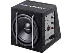 "Get this compact Blaupunkt 75-watt 8"" powered subwoofer for just $99.99"