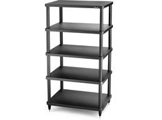solidsteel S3-5 Audio Rack 5 Shelf- Black