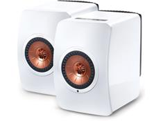 KEF LS50 powered speakers
