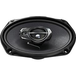 "Side-view of Pioneer TS-A6965R 6""x9"" speaker"