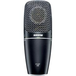 Shure USB condenser microphone