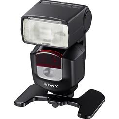 Use the included stand for wireless off-camera flash placement.