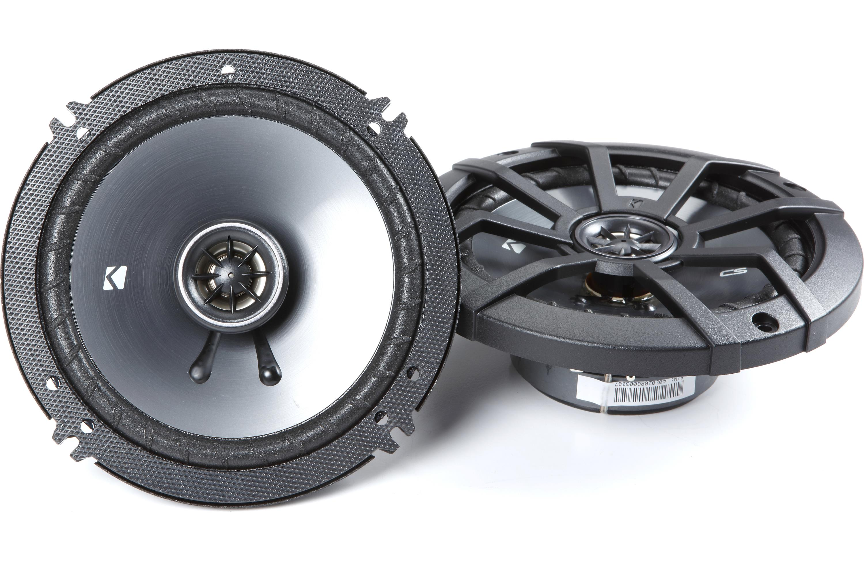 Kicker BOGOH!Buy a set of Kicker car speakers, save 50% on a 2nd set