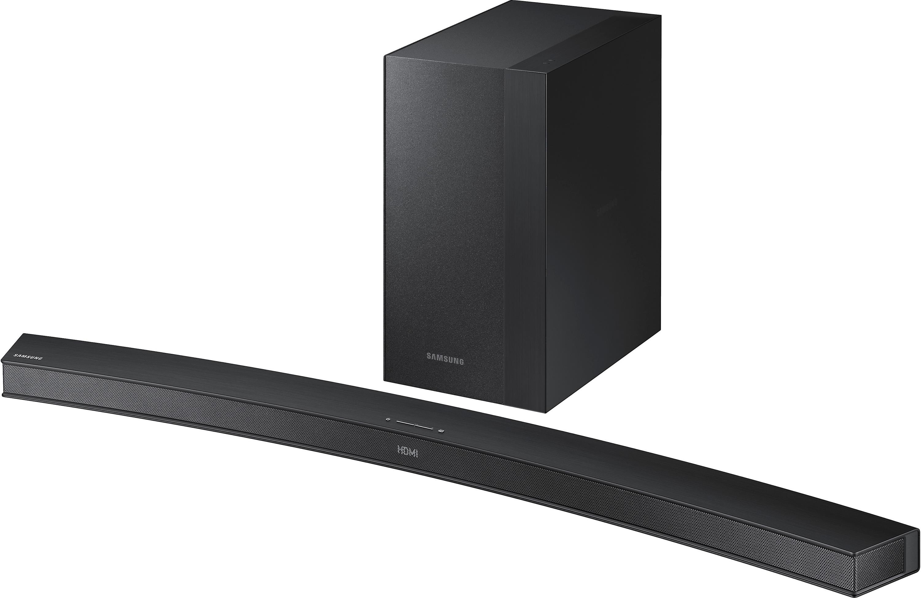 FREE curved sound barwith purchase of select Samsung curved TVs