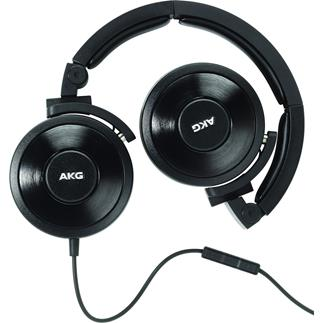 AKG K619 DJ headphones with in-line remote and microphone