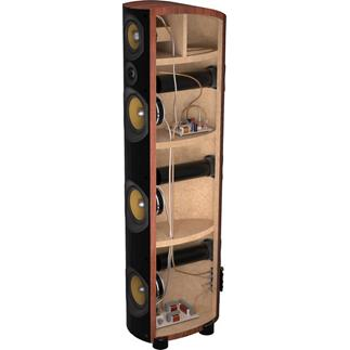 PSB Imagine T2 tower cutaway