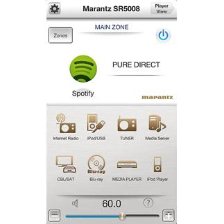 Marantz SR5008 7.2-channel home theater receiver with Apple AirPlay and free remote app for iOS and Android