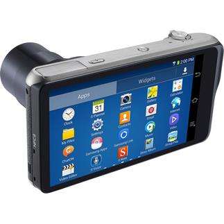 The Samsung CG200 Galaxy Camera 2 touchscreen