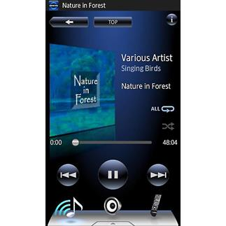 Onkyo's free remote app for Apple and Android