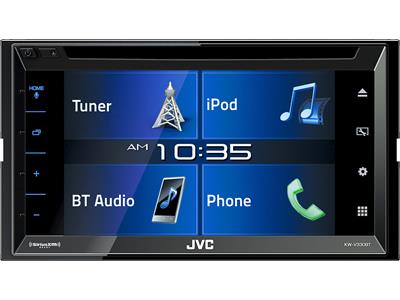 Save up to $200on JVC DVD receivers