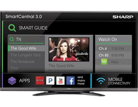 Sharp SQ15-series TVs