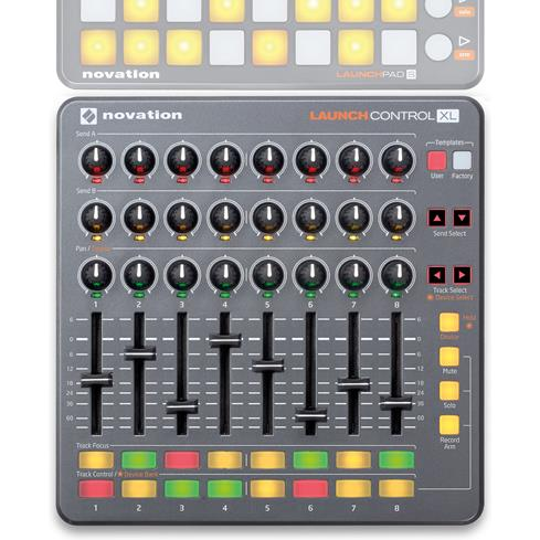novation launch control xl usb midi mixing controller for ableton live at. Black Bedroom Furniture Sets. Home Design Ideas
