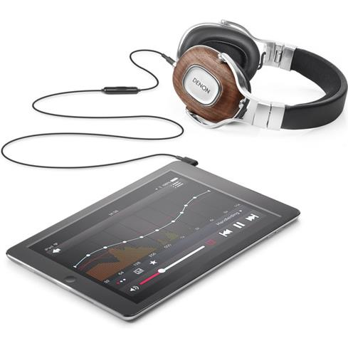 headphones with tablet