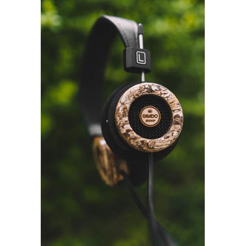 Side view of the Grado Hemp headphones