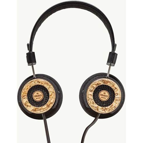 Hemp headphones with ear cups flat