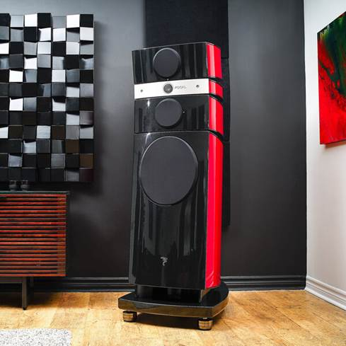 IsoAcoustics GAIA-TITAN Cronos speaker isolation feet