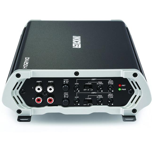 Kicker 43DXA2504 Car Audio 4 Channel Amp DXA250.4 CK8 Amplifier Kit Accessories