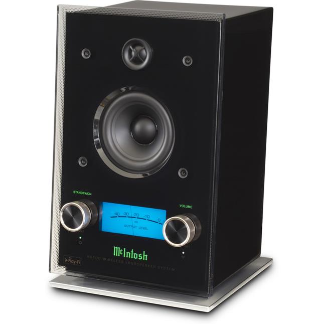 The McIntosh RS100 wireless speaker.