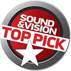 Sound and Vision top pick logo