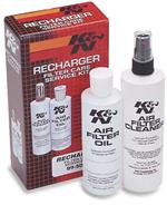 K&N Filter Care Service Kit, Cleaner, Oil and decal