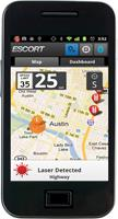 Escort SmartRadar radar detector Escort Live! iPhone app