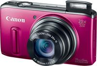 The Canon PowerShot SX260 HS