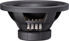 Side view of SWS-12D4 subwoofer