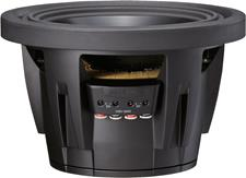Side view of SWR-10D4 subwoofer