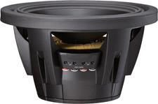 Side view of SWR-12D4 subwoofer
